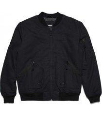 bomber jacket halny black