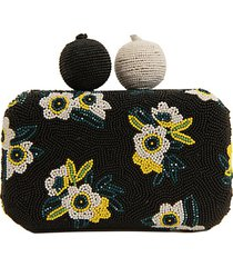 annabelle beaded hardcase clutch