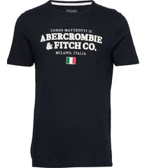 city tees t-shirts short-sleeved abercrombie & fitch