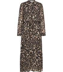 clariceiw dress jurk knielengte bruin inwear