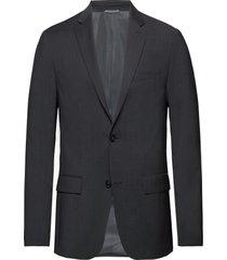 modern textured suit blazer kavaj grå calvin klein