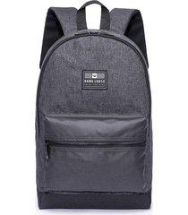 mochila hang loose cinza escuro - tricae