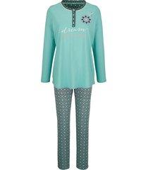 pyjama blue moon jadegroen::bordeaux
