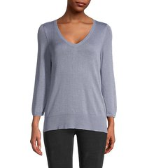 skyline v-neck sweater
