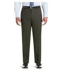travel tech slim fit flat front dress pants by jos. a. bank
