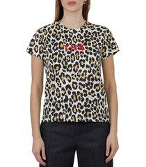 marc jacobs leopard t-shirt