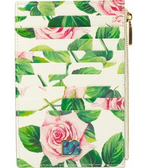 dolce & gabbana floral card holder