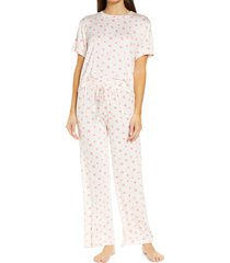 women's honeydew intimates all american pajamas, size x-small - pink