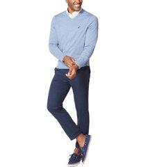 nautica men's navtech v-neck sweater
