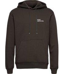 new standard hoodie logo hoodie trui groen mads nørgaard