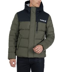 hurley men's barrel jacket