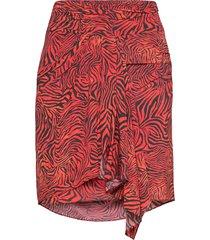 siowa kort kjol röd iro
