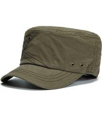 berretto militare in cotone