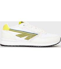 hi-tec badwater sneakers yellow