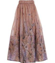 zimmermann luminous skirt