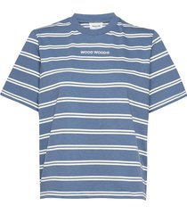 alma heavy t-shirt t-shirts & tops short-sleeved blå wood wood