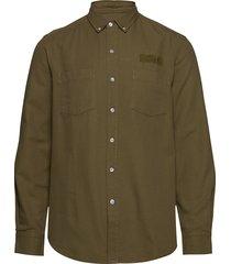 bear shirt - olive overhemd business groen forét