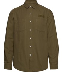 bear shirt overshirt groen forét