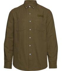 bear shirt overshirts groen forét
