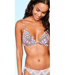 sunrise soft triangle bikini top