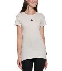 calvin klein jeans ck logo t-shirt