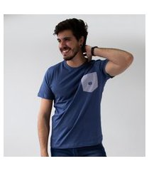 camiseta com bolso listrado masculina t-shirts anticorpus