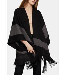 bcbgeneration scarf poncho