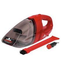 aspirador de pó automotivo portátil 90w 12v worker 391913 vermelho