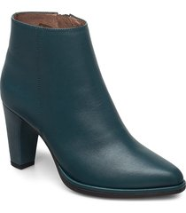 m-4407 shoes boots ankle boots ankle boot - heel grön wonders