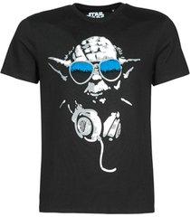 t-shirt korte mouw yurban dj yoda cool