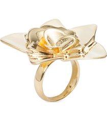 anel feminino guardiã em metal - ouro