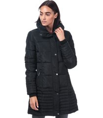 elle womens flore coat size 16 in black