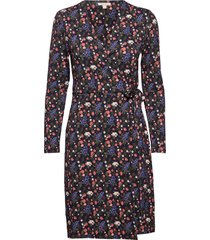 barbour haley dress knälång klänning blå barbour