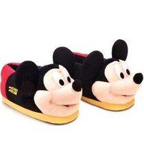 pantufa 3d mickey mouse walt disney ricsen - unissex