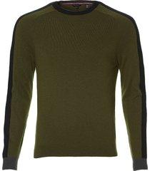 ted baker pullover - slim fit - groen