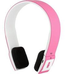 audífonos bluetooth manos libres inalámbricos, bh-23 sin hilos audifonos se divierte el auricular estéreo del auricular para smartphone (color de rosa)