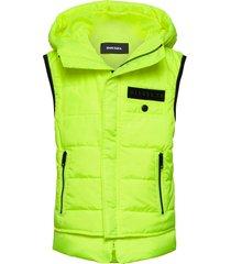 jsunrevsless jacket gevoerd vest geel diesel