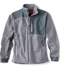 hybrid wool fleece jacket