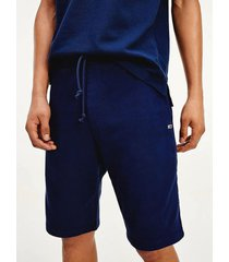 pantalón corto de chándal amplio tommy classic negro tommy jeans