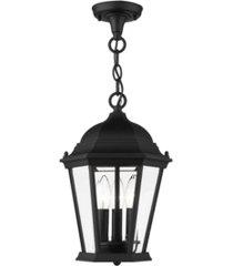 hamilton 3 lights outdoor pendant lantern
