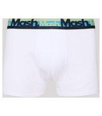 cueca masculina mash boxer branca