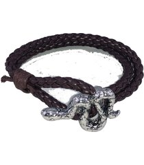 pulsera fight for your right trenzado serpiente
