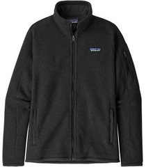 patagonia vest womens better sweater jacket black-m