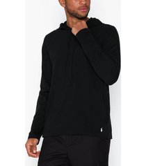 polo ralph lauren long sleeve cotton hoodie tröjor black