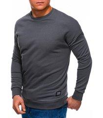 ombre sweater heren klassiek grijs b1229