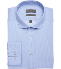 calvin klein royal blue slim fit dress shirt