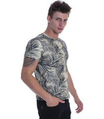 t-shirt osmoze ethos 007 12660 un estampada - bege - m - masculino