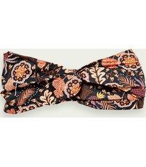 scotch & soda 100% cotton printed headband