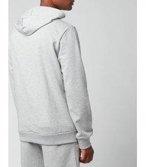 a.p.c. men's item hoodie - heather grey - xl
