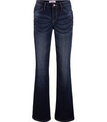 jeans elasticizzati authentik bootcut (blu) - john baner jeanswear